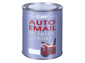 Fast drying metallic base coat (in various shades).