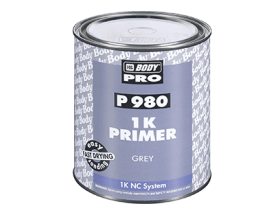 Fast drying fully compliant 1K filling primer suitable for all kinds of paints.