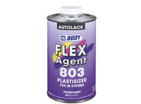Special additive for flexing of 2K systems i.e. 2K Primers, 2K Paints or 2K Clear coats.