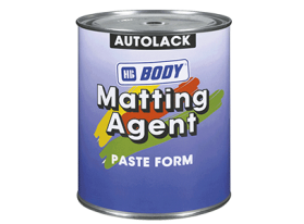 Special agent developed for reducing the gloss of 1K or 2K paints.