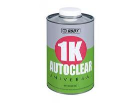 BODY 1k autoclear universal is easy to use with excellent results, fast drying and does not require hardener.