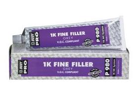 One component fine filler, ideal for finishing of small uneven surfaces.