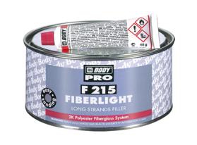 The F215 is a fiber filler with long strands that is transparent in color.