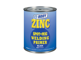 Zinc chromate-lead FREE anticorrosive primer with a high zinc content for Spot-Mig welding.
