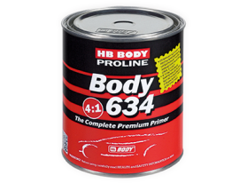 HB BODY Proline Series 6 BODY 634 Primer is a high quality 2K acrylic primer suitable for spot panel repairs and general automotive refinishes.