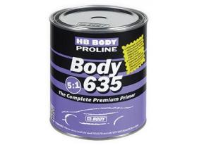 HB BODY Proline Series 6 BODY 635 Primer is a high quality 2K acrylic primer suitable for spot panel repairs and general automotive refinishes.