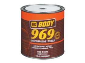 Fast drying anticorrosive primer which can be applied over metal and wooden surfaces.
