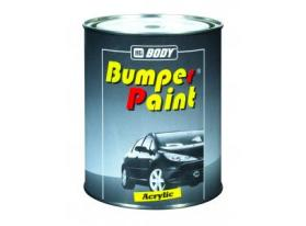 Fast drying 1K acrylic texture paint for bumpers.