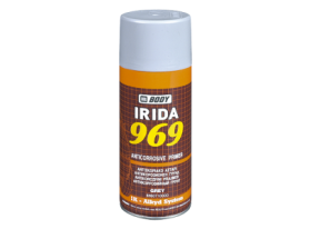 Fast drying anticorrosive primer applied over metal and wooden surfaces.