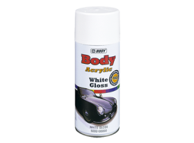 Quick drying gloss acrylic topcoat with excellent coverage for automotive and general decorative use.