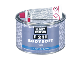 F211 Bodyshoft is a two component polyester filling compound, suitable for metallic, wooden and polyester surfaces.