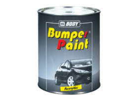 Fast drying 1K paint for bumpers.