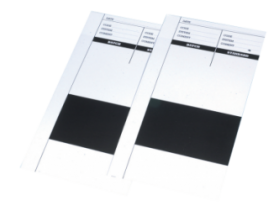 Black and white test cards for measuring the opacity of all paints, primers, aerosols etc