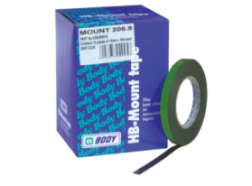 Double sided, high quality adhesive tape specially designed for mounting of plastic profiles, emblems