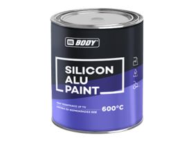 Silicon Alu Paint is a special, silicon-based paint with aluminium, for the coating of metallic surfaces exposed to high temperatures.