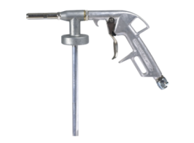 Special gun for stone chip coatings. Fits directly to the can and it can be easily cleaned