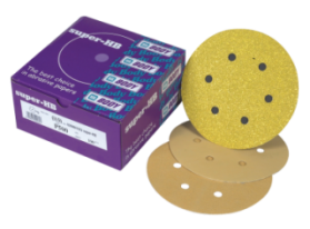 Aluminium oxide high performance special abrasive with velcro backing
